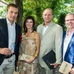 Ryk Neethling, Nerine and Francois Pienaar and Florian Gast