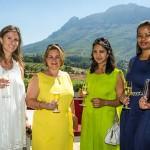 Vanessa Sabbatini, Laurence Vallet, Suneeta Motala and Nthabiseng Mgengenene from AfrAsia Bank